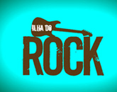 Logo 'Ilha do Rock'